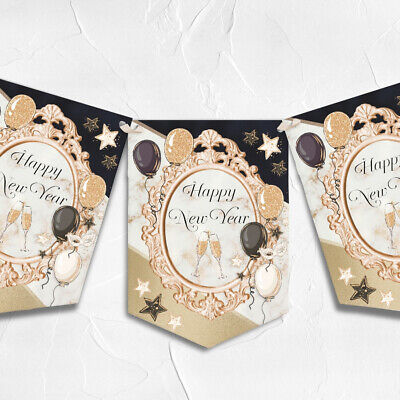 £6.49 • Buy New Years Eve Bunting Garland 2022 Party Decor Banner NYE Decoration