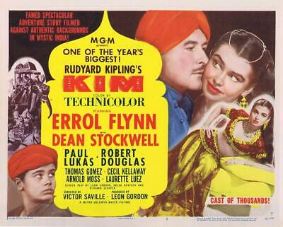 Kim 1950 Action/adventure Errol Flynn Dvd • 3.50£