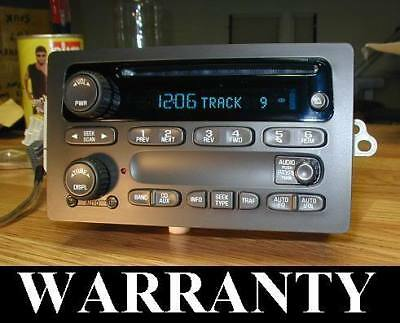 $219.99 • Buy Unlocked 2003-07 Gm Chevy Tahoe Silverado Classic Cd Player Radio Ssr