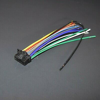 $ CDN10.82 • Buy Power Wire Harness For Sony Wx920bt Wx-920bt Free Fast Shipping