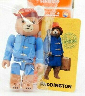 $15.29 • Buy Medicom Bearbrick Be@rbrick 100% Series 39 Animal Paddington Bear Art Toy