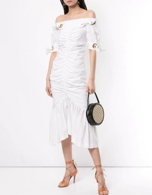 AU150 • Buy Bnwt Alice Mccall Porcelain Everything Midi Dress - Size 10 Au/6 Us (rrp $450)