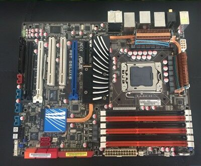 $ CDN209.59 • Buy ASUS P6T DELUXE Motherboard Chipset Intel X58 LGA1366 DDR3 With I/O Shield