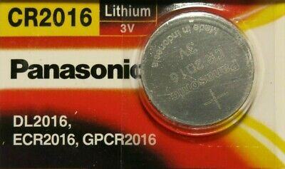 Panasonic CR2016 Lithium Coin Cell 3V Battery Car Key Fobs Toys Remote Batteries • 1.49£