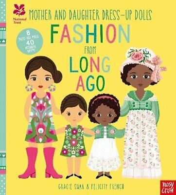 National Trust: Mother And Daughter Dress-Up Dolls: Fashion Fro... 9781788001472 • 9.26£