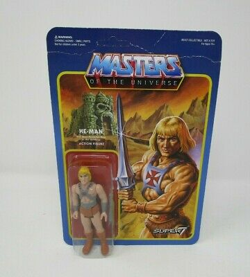 $29.99 • Buy He-Man ReAction 2015 MASTERS OF THE UNIVERSE MOTU Super 7 MOC #2