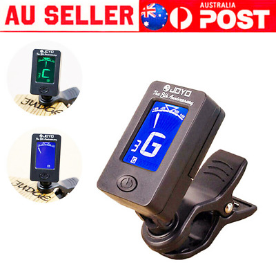 AU12.69 • Buy 1/2/3X Chromatic Guitar Tuner Violin Ukulele Bass LCD Electronic Digital Clip On