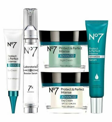 No7 Protect And Perfect Intense Advanced Day Night Cream Serum Eye Cream *All* • 8.79£