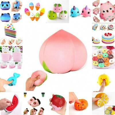 AU4.16 • Buy Cute Squeeze Realistic Slow Rising Charms Collection Funny Toy Stress Relief AU