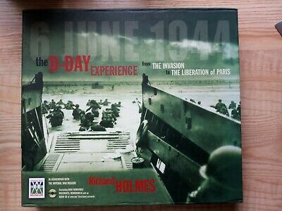 £16.99 • Buy The D-Day Experience - War Time Book  By Richard Holmes With Audio CD & Documets