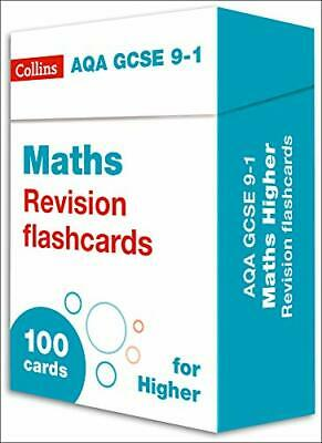£6.99 • Buy AQA GCSE 9-1 Maths Higher Revision Cards: Ideal For Home Lear... By Collins GCSE