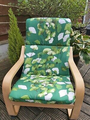 Ikea Poang Kids Chair Cover, Slipcover,children's Cushion,washable,padded • 14£
