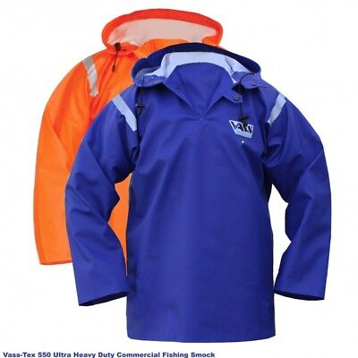 Vass Tex 550 Extreme Waterproof / Oil Skin / Fishing Smock • 58.99£