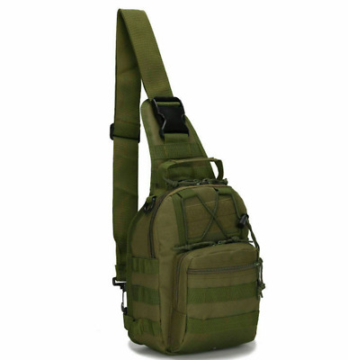 $5.99 • Buy Outdoor Military Tactical Chest Pack Bag Hiking Trekking Climbing Shoulder Bags