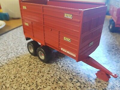 Rare Britains Conversion Smyth Silage Trailer  For Tractor Siku  • 40£