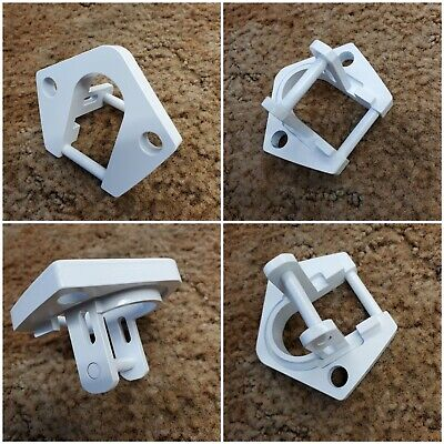 $ CDN149.68 • Buy New Dometic Sunchaser Ii Rv Awning Part Bottom Foot Fits Rounded Hardware White