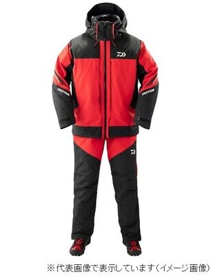 £549.76 • Buy Daiwa Provider Goretex Product Combi Up Winter Suit DW-1309 Red 2XL From Japan