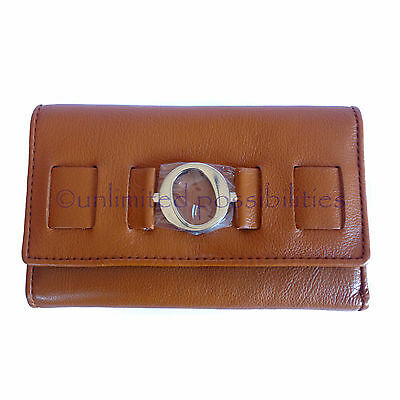 AU97.95 • Buy New OROTON Ornament High Fold Leather Wallet Purse Tan Box Tag
