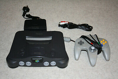 AU199 • Buy Nintendo 64 Console With All Cables And Original Controller (9/10 Firm Stick!)