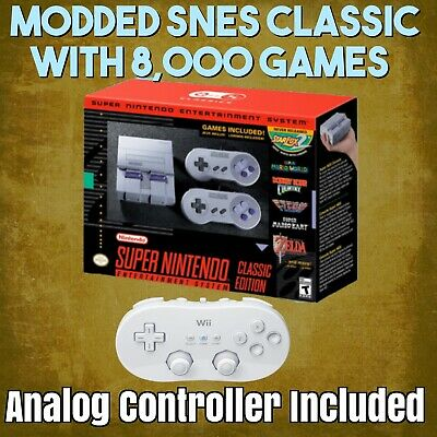$ CDN284.11 • Buy SNES Classic Edition With 8,000 Games NO BOX!!