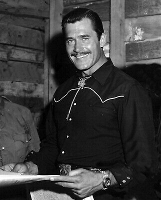 $14.99 • Buy  CLINT WALKER CHEYENNE SMILING With DASHING MOUSTACHE Celebrity Photo (206)