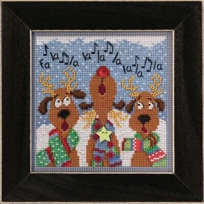$16.99 • Buy Reindeer Chorus - Mill Hill Buttons And Beads - Cross Stitch Kit - MH14-2036
