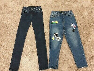 £6.99 • Buy Girls Jeans By Replay,Very Age 8.RRP £89.never Been Used.