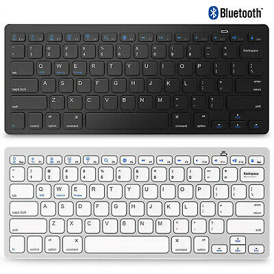 $11.99 • Buy Wireless Bluetooth Keyboard For IOS Android Windows Mac OS PC Tablet Smartphone