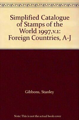 £24.99 • Buy Simplified Catalogue Of Stamps Of The World: Fo... By Gibbons, Stanley Paperback
