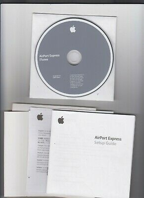 AU12 • Buy Apple AirPort Express ITunes CD Version 4.2 CD With Packaging