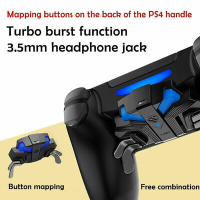 AU50.55 • Buy FPS Controller Gamepad Mapping Key +MODS & Paddles Turbo For PS4 Slim/Pro PO