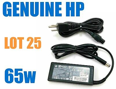 $ CDN500.02 • Buy Lot Of 25 - Original HP AC Adapter Laptop Charger 19.5V 3.33A 65W W/Cords OEM