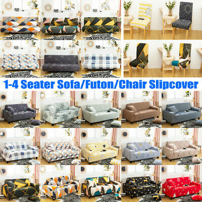 1-4 Seater Modern Sofa Cover Washable Couch Chair Slipcover Furniture Protector • 15.99£