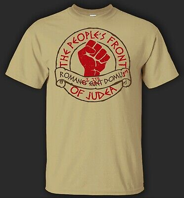 £12.99 • Buy Peoples Front Of Judea T-Shirt Life Of Brian Cult Funny Festival Retro