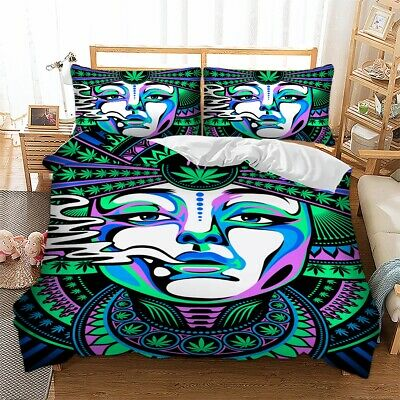 Gothic Tattoo Duvet Cover Bedding Set With Pillow Cases Single Double King Sizes • 23.74£