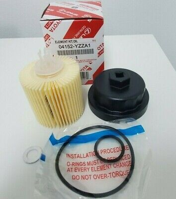 $19.99 • Buy Toyota Oil Filter 04152-YZZA1 + Housing WRENCH + Washer Plug Drain 90430-12031