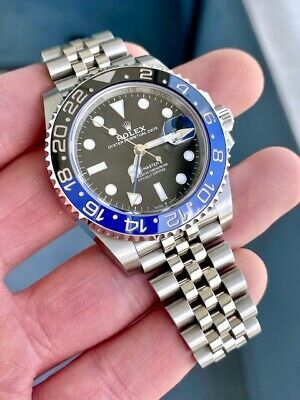 $ CDN20877.60 • Buy Rolex GMT-Master II 126710 Steel Black & Blue Jubilee  Batman  - No Box/No Paper