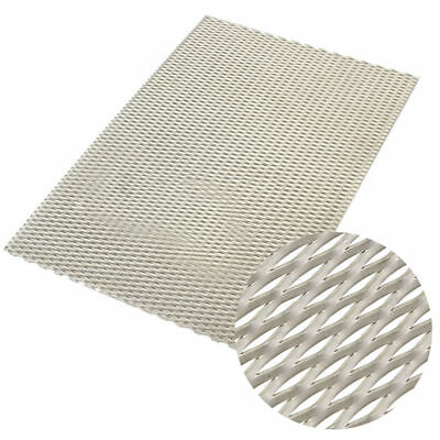 £6.87 • Buy 200mm X 300mm X 0.5mm New Metal Titanium Mesh Sheet Perforated Plate Expanded