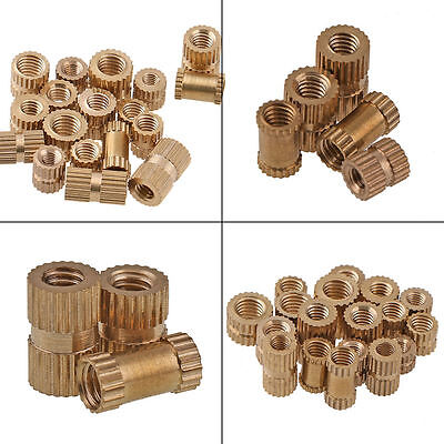 $2.72 • Buy M3 / M4 Brass Knurled Nuts Insert Embedded Nuts