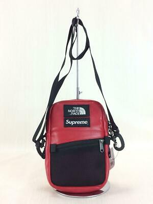 $ CDN575.99 • Buy Supreme X THE NORTH FACE Leather Shoulder Bag Red Used From Japan F/S