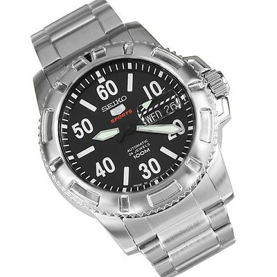 $ CDN288.95 • Buy *NEW* SEIKO 5 Sports 100M Military Automatic SRP213J1 ''MADE IN JAPAN''