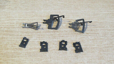 Airfix Spares Locomotive Coach Wagon Couplings X 3 With Securing Clips • 4£