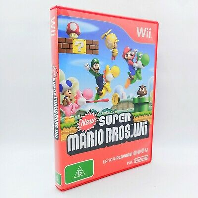 AU49.10 • Buy New Super Mario Bros   Nintendo Wii/Wii U   PAL   Complete   Like New Condition