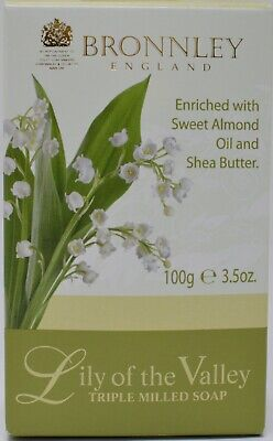 Bronnley Lily Of The Valley Triple Milled Soap 100g • 6.50£