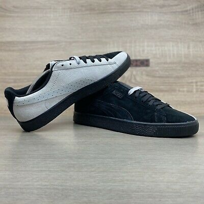 Puma X Staple Clyde UK 10 NTRVL Black Grey Split Suede 363674-01 • 85£