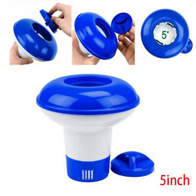 Automatic Chlorine Pill Chemical Tablet Floating Dispenser For Swimming Pool Spa • 5.49£