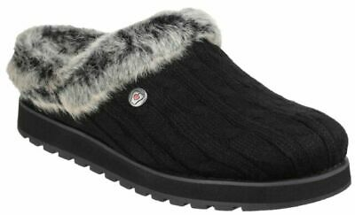 Skechers Womens Slippers Skechers Keepsakes Ice Angel Bobs Memory Foam Slippers • 42.99£