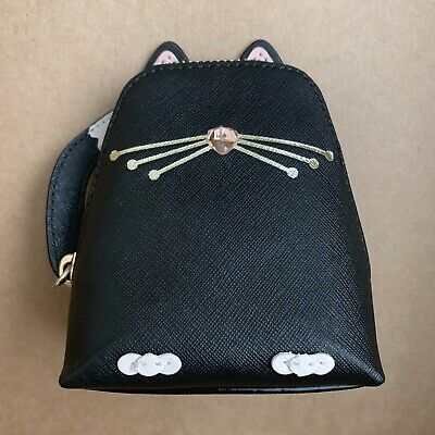 $ CDN90.96 • Buy Authentic Novelty Kate Spade Jazz Things Up Black Cat Coin Purse Bag WLRU3071