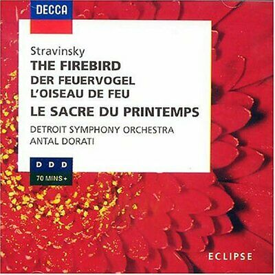£3.49 • Buy Stravinsky: The Firebird, The Rite Of Spring -  CD 02VG The Cheap Fast Free Post