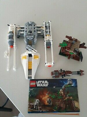 AU66 • Buy Lego Star Wars Sets Incomplete - Y-Wing Fighter 7658 Ewok Attack 7956